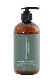 THERAPY GARDEN HAND & BODY LOTION - WILD LIME & MINT