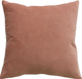 MAJESTIC CUSHION - MUTED CORAL
