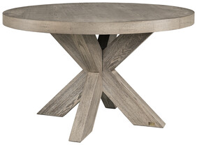 ARTWOOD HUNTER ROUND DINING TABLE - ANTIQUE