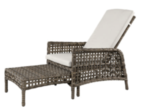 ARTWOOD TAMPA OUTDOOR LOUNGER - CLASSIC GREY