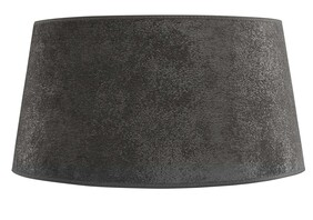 ARTWOOD LARGE CLASSIC LAMPSHADE - GREY SUEDE