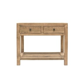 PEASANT 2 DRAW CONSOLE WITH LOW SHELF