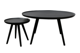 COOPER COFFEE TABLE SET - BLACK