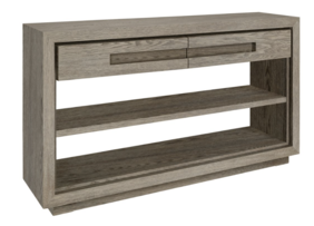 ARTWOOD HUNTER CONSOLE WITH DRAWERS - ANTIQUE GREY