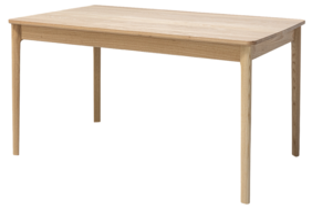 FINN DINING TABLE - NATURAL ASH