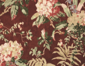 WASHINGTON FLORAL - RED EARTH