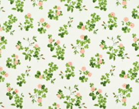 TREFOIL EMBROIDERY - SPRING