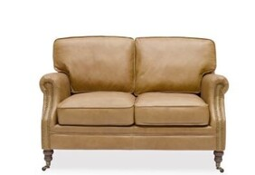 WILTSHIRE SOFA TWO SEATER - CAMEL