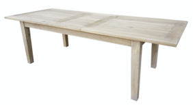 HALO WENTWORTH EXTENSION DINING TABLE - WEATHERED OAK