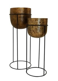 WINE COOLER ON STAND - SET OF 2