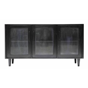 MONICA 3 SECTION SIDEBOARD - BLACK