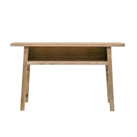 PEASANT CUBBY CONSOLE LONG - NATURAL