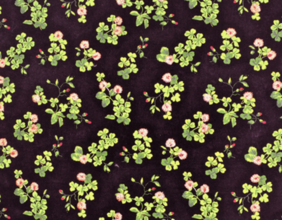 TREFOIL EMBROIDERY - MIDNIGHT