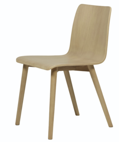 SKETCH TAMI PAINTED DINING CHAIR - LIGHT OAK